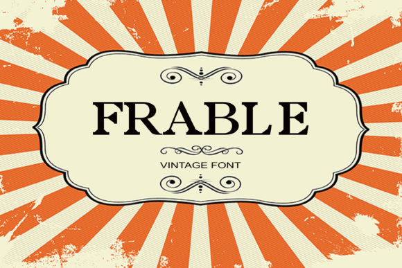 Print on Demand: Frable Serif Font By maxim.90.ivanov