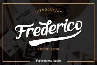 Print on Demand: Frederico Script & Handwritten Font By fachranheit