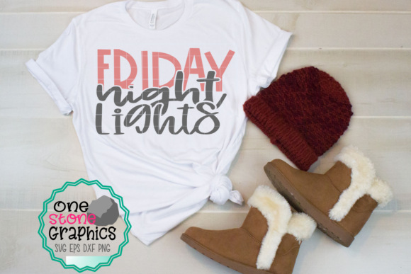 Friday Night Lights Graphic Crafts By OneStoneGraphics