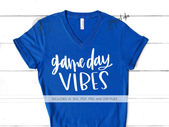 Download Free Game Day Vibes Graphic By Beckmccormick Creative Fabrica SVG Cut Files