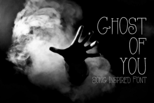 Ghost of You Script & Handwritten Font By CuriousxxGraphics