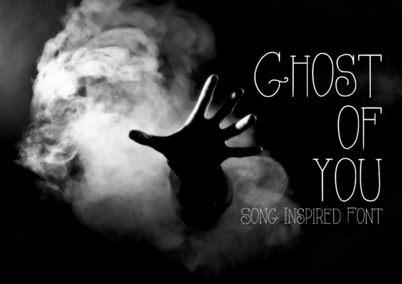 Print on Demand: Ghost of You Script & Handwritten Font By CuriousxxGraphics