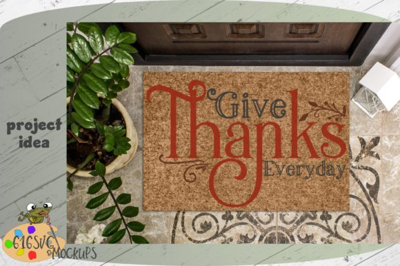 Give Thanks Everyday Graphic By 616SVG