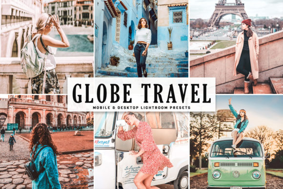 Download Free Globe Travel Lightroom Presets Graphic By Creative Tacos for Cricut Explore, Silhouette and other cutting machines.