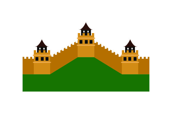 Download Free Great Wall Of China Svg Cut File By Creative Fabrica Crafts for Cricut Explore, Silhouette and other cutting machines.