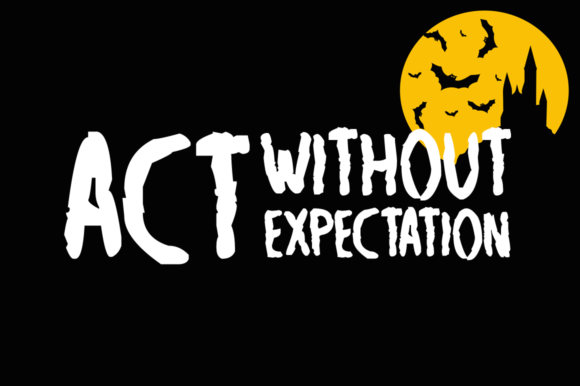 Print on Demand: Grim Reaper Halloween Display Font By Imposing Fonts - Image 3