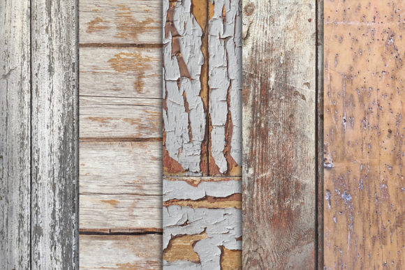 Grunge Wood Textures X10 Vol3 Graphic Textures By SmartDesigns