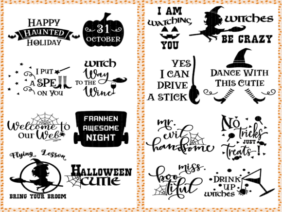 Halloween & Fall Thanksgiving SVG Bundle Graphic Crafts By ElsieLovesDesign - Image 2