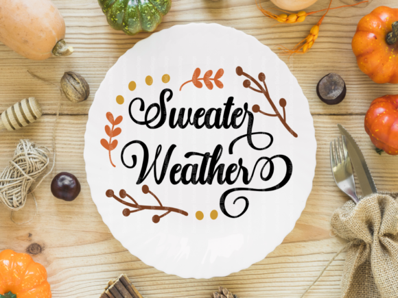Halloween & Fall Thanksgiving SVG Bundle Graphic Crafts By ElsieLovesDesign - Image 6