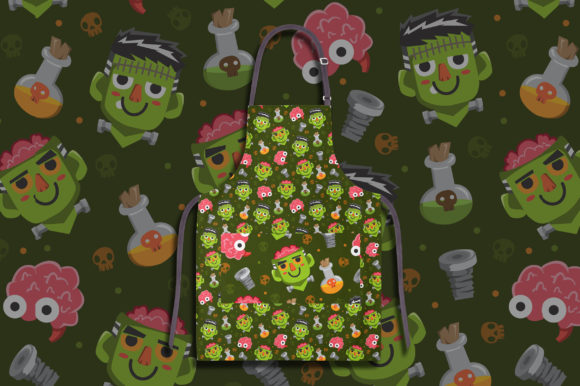 Download Free Halloween Seamless Patterns 2 Graphic By Bayu Baluwarta for Cricut Explore, Silhouette and other cutting machines.