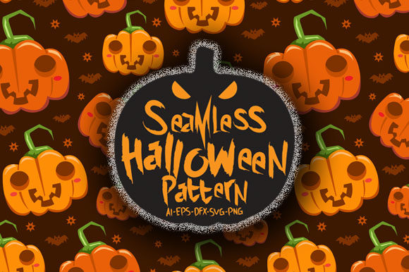Print on Demand: Halloween Seamless Patterns 16 Graphic Patterns By Bayu Baluwarta