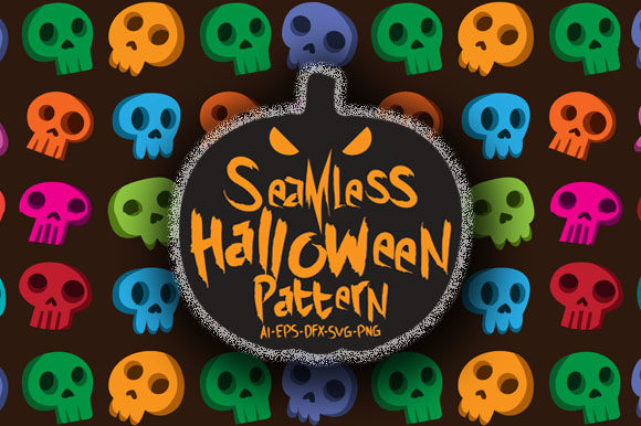Print on Demand: Halloween Seamless Patterns 29 Graphic Patterns By Bayu Baluwarta