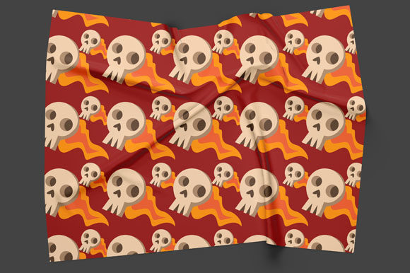 Print on Demand: Halloween Seamless Patterns 39 Graphic Patterns By Bayu Baluwarta - Image 2