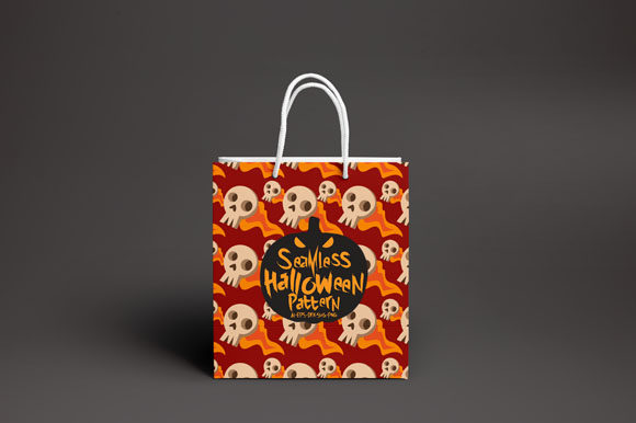 Print on Demand: Halloween Seamless Patterns 39 Graphic Patterns By Bayu Baluwarta - Image 4