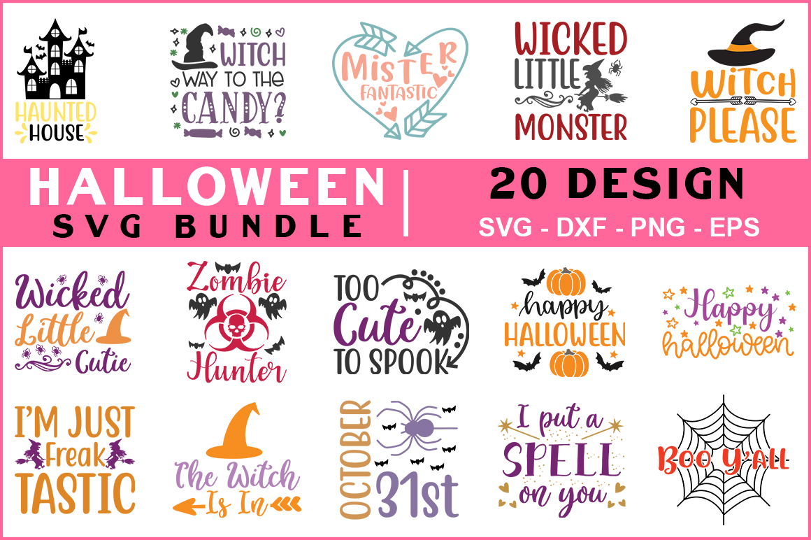 Download Free Halloween Bundle Vol 01 Graphic By Red Box Creative Fabrica SVG Cut Files