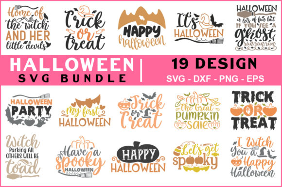 Download Free Halloween Bundle Vol 02 Graphic By Red Box Creative Fabrica for Cricut Explore, Silhouette and other cutting machines.