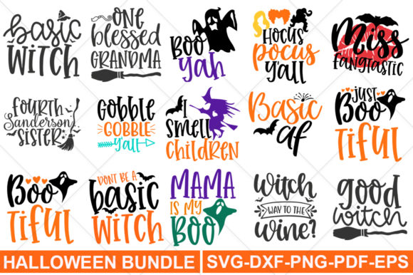 Print on Demand: Halloween Graphic Print Templates By svgbundle.net