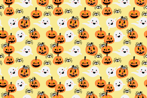 Download Free Halloween Pumpkin And Witch Graphic By Thanaporn Pinp Creative for Cricut Explore, Silhouette and other cutting machines.