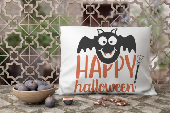 Print on Demand: Happy Halloween Graphic Crafts By CreativeArt
