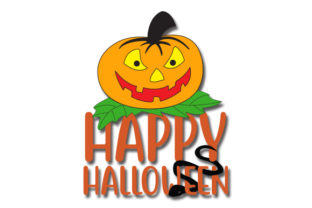 Download Free Happy Halloween Grafico Por Creativeart Creative Fabrica for Cricut Explore, Silhouette and other cutting machines.