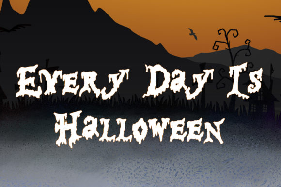 Print on Demand: Happy Halloween Script & Handwritten Font By thomasaradea - Image 2