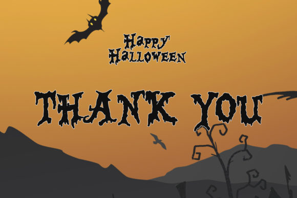 Print on Demand: Happy Halloween Script & Handwritten Font By thomasaradea - Image 7