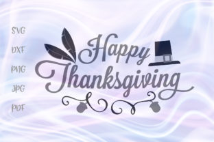 Download Free Happy Thanksgiving Clipart Graphic By Digitals By Hanna for Cricut Explore, Silhouette and other cutting machines.