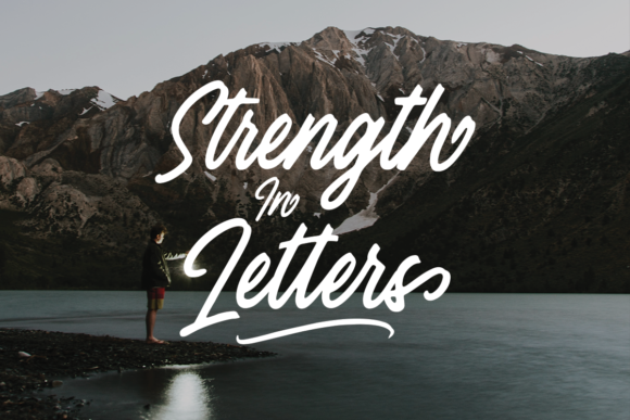 Print on Demand: Histeria Script Script & Handwritten Font By Geranium.co - Image 7