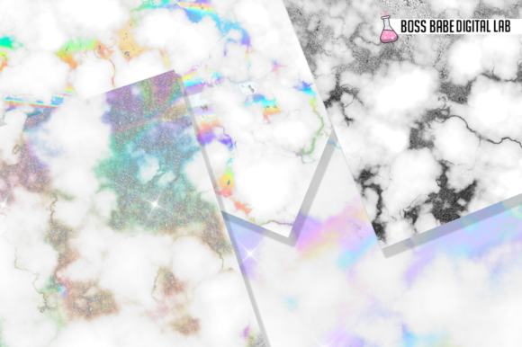 Hologram Foil Textures Graphic By bossbabedigitallab Image 2