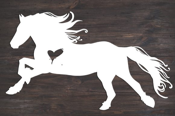Horse Graphic Print Templates By Fortuna Prints