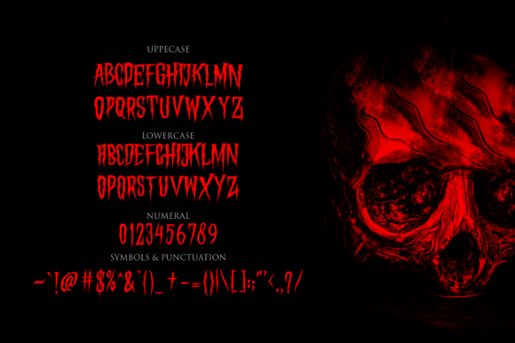Print on Demand: Hungry Hunters Display Font By Holydie Studio - Image 3