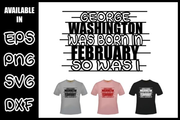 I Was Born in February Graphic Crafts By ZetDesign