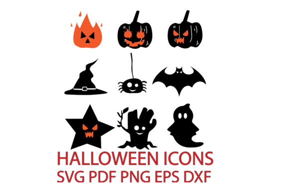Download Free Icon Halloween Graphic By Dobey705002 Creative Fabrica SVG Cut Files