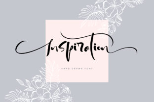 Inspiration Font By Happy Letters