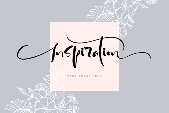 Print on Demand: Inspiration Script & Handwritten Font By Happy Letters