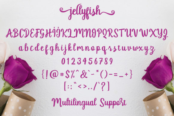 Print on Demand: Jellyfish Script & Handwritten Font By Best Font Studio - Image 9