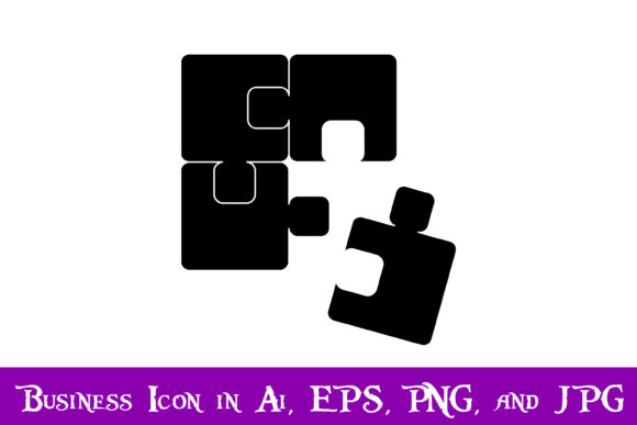Download Free Jigsaw Puzzle Icon Graphic By Purplespoonpirates Creative Fabrica for Cricut Explore, Silhouette and other cutting machines.