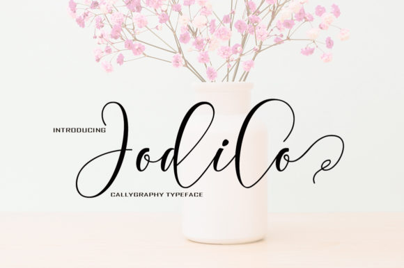 Print on Demand: Jodilo Script & Handwritten Font By typedesign93 - Image 1