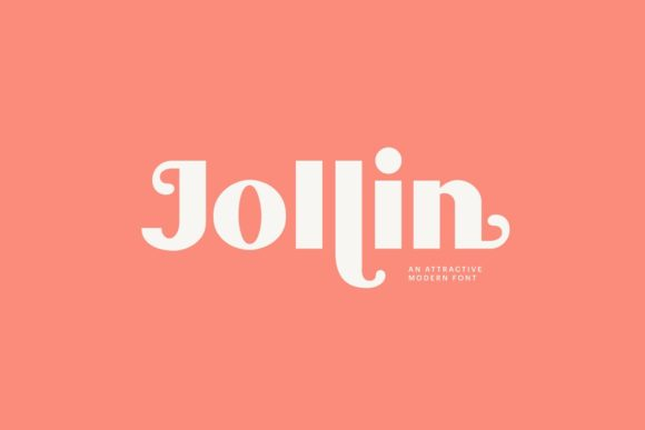 Print on Demand: Jollin Display Font By creativemedialab