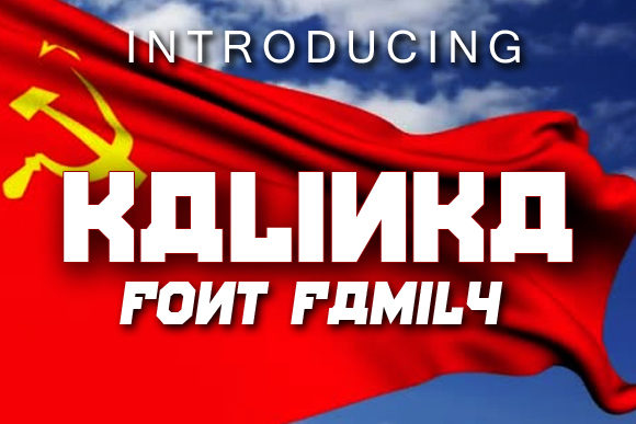Print on Demand: Kalinka Display Font By vladimirnikolic - Image 1