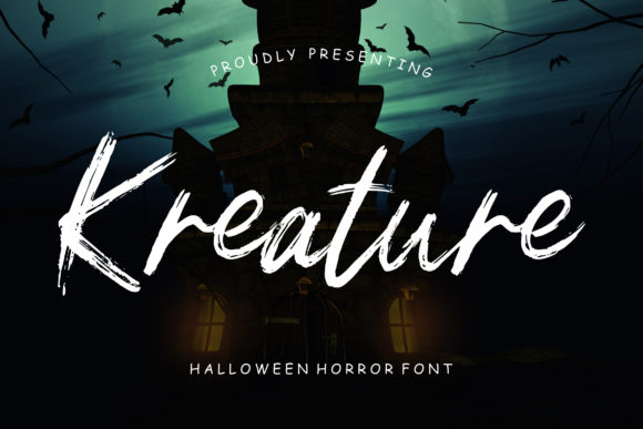Print on Demand: Kreature Script & Handwritten Font By CreatypeStudio - Image 1