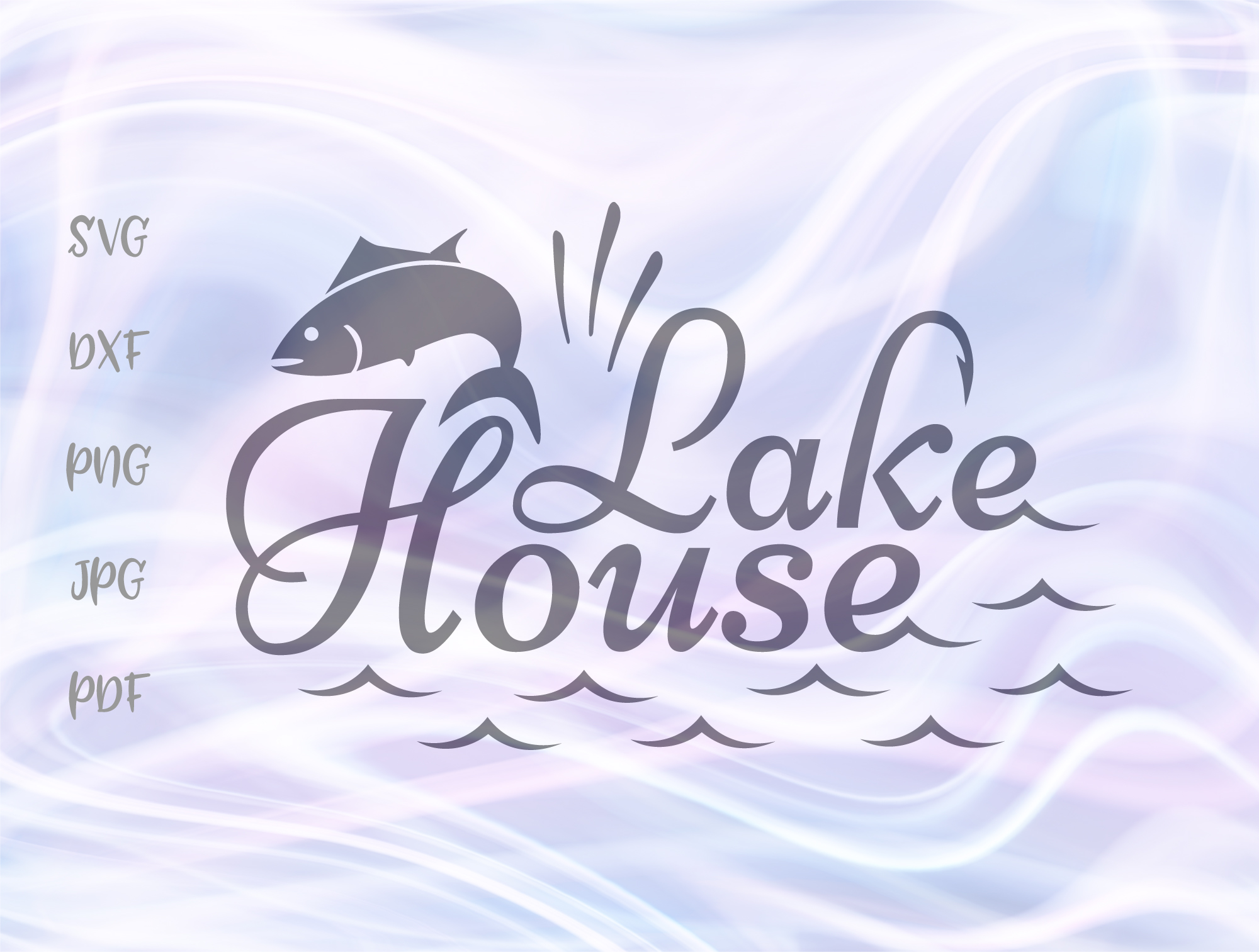 Download Free Lake House Graphic By Digitals By Hanna Creative Fabrica for Cricut Explore, Silhouette and other cutting machines.