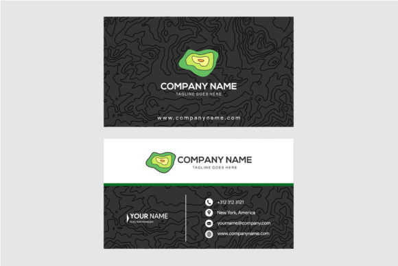 Print on Demand: Landmark Texture Color Card Graphic Print Templates By noory.shopper