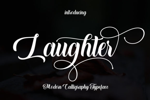 Laughter Font By Rudistudio Image 1