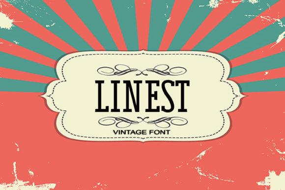 Print on Demand: Linest Serif Font By maxim.90.ivanov