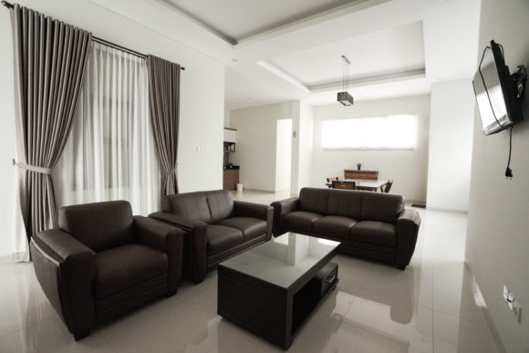 Living Room for Comfortable Room Graphic Architecture By Qasas77