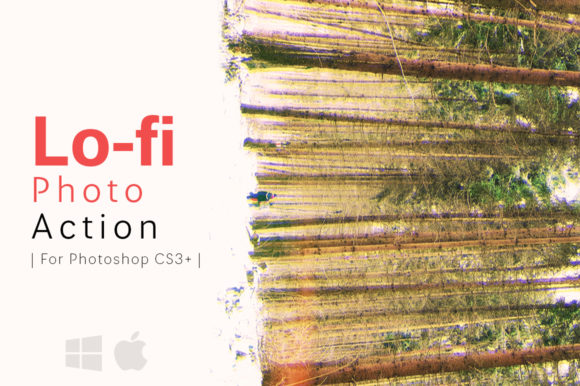 Print on Demand: Lo-fi Photo Action Graphic Actions & Presets By freezerondigital