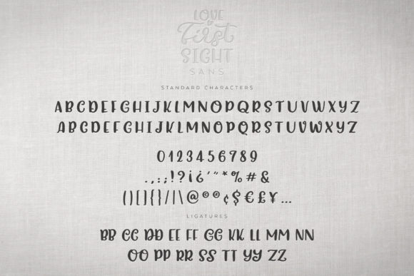 Print on Demand: Love at First Sight Display Font By Ayca Atalay - Image 15