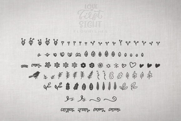 Print on Demand: Love at First Sight Display Font By Ayca Atalay - Image 16