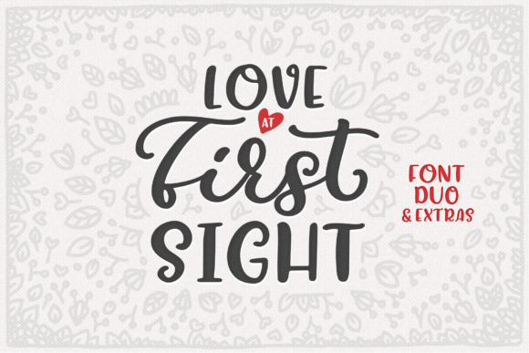 Print on Demand: Love at First Sight Display Font By Ayca Atalay - Image 1